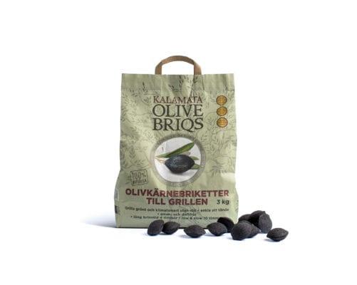 Briketter olive briqs 3 kg