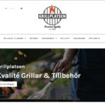 grillplatsen.se, ny hemsida för kolgrillar och gasolgrillar
